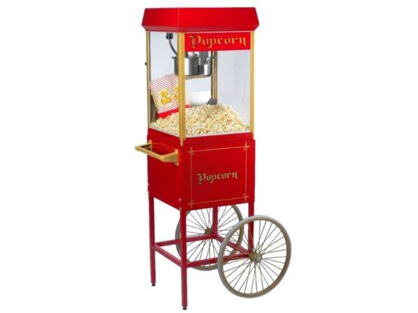 Καρότσι για μηχανή Popcorn