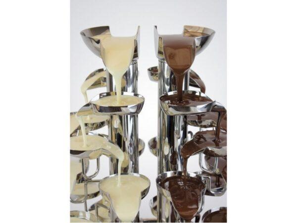 Σιντριβάνι Σοκολάτας 2 Ροών